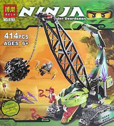 Конструктор Ninja 9761 Разрушительная машина 414 дет.