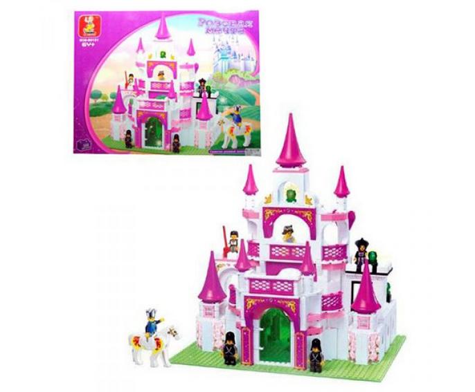Конструктор Sluban M38-B0151 Королевский замок, замок для принцессы, 508 дет.