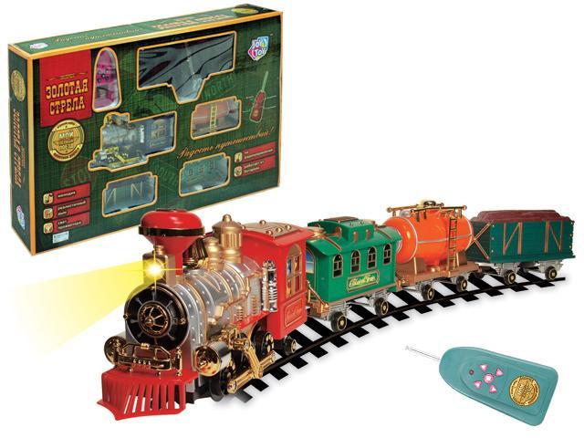 Детская железная дорога 0622 Золотая стрела на радиоуправлении