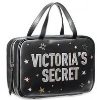 Victoria`s Secret : Косметичка - Сумка Вместительная на 3 отделения, Оригинал- США Тревел Кейс для путешествий