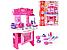 Кухня детская игрушечная электронная 008-26 голубая и розовая, фото 2