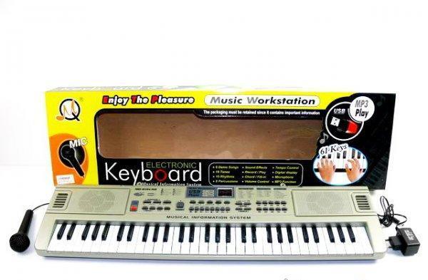 Детское Пианино - Орган нот 61 электронный (816USB)