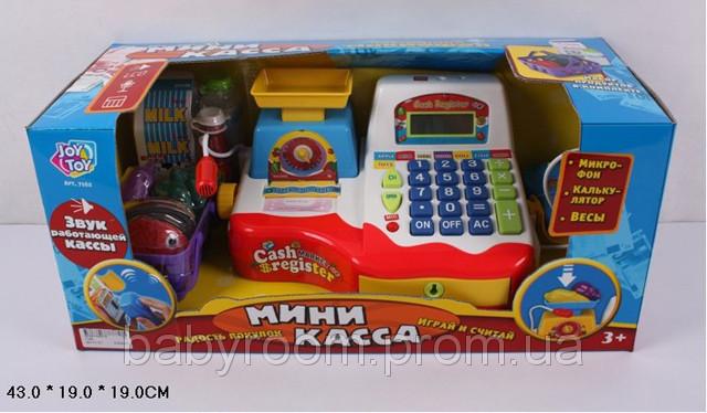 Детская касса - кассовый аппарат «Мини-касса» 7162