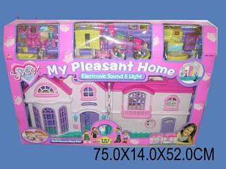 Домик для кукол 16428 большой двойной