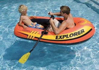 Лодка Explorer 58331, надувная, одноместная, весла, насос