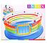 Детский игровой центр, батут надувной Intex 48264, размеры 182*86см, фото 7
