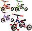 Велосипед M 0688-1, M 0688-3три колеса серо-розовый, желто-зеленый, фото 2