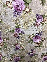 Клейонка на стіл Dekorama Бузкова троянда
