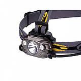Налобный фонарь Fenix HP30R Cree XM-L2  XP-G2 R5 серый, фото 4