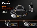 Налобный фонарь Fenix HP30R Cree XM-L2  XP-G2 R5 серый, фото 6