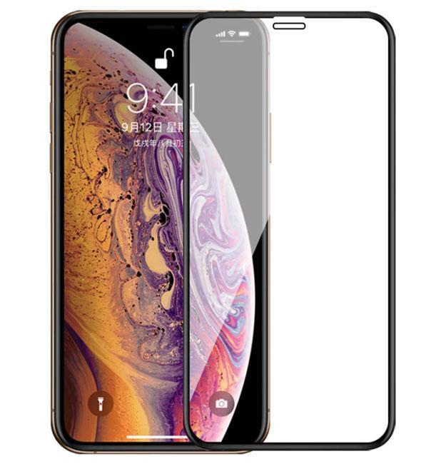 Full Glue защитное стекло для Apple iPhone XR / iPhone 11 - Black