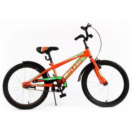 Велосипед Flash 20 BT-CB-0047 оранжевый и голубой