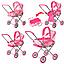 Коляска трансформер для куклы Melogo 9391 2 в 1, фото 2
