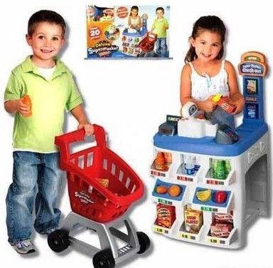 Игровой набор Супермаркет Deluxe Keenway Магазин 31621