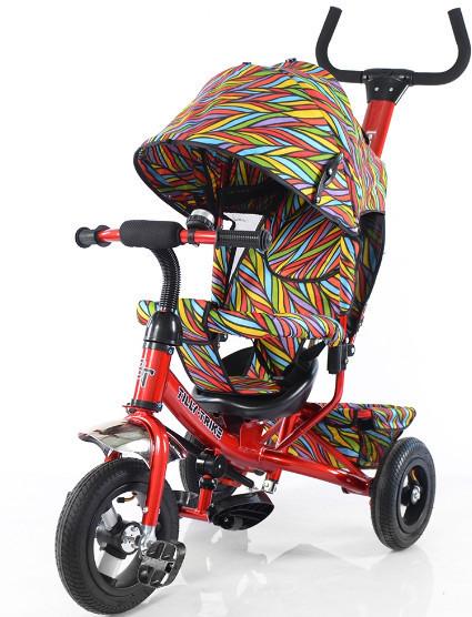 Детский трехколесный велосипед TILLY Trike T-351-2 Air красный
