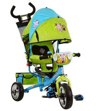 Трехколесный велосипед колясочного типа LT 0066-01 Лунтик