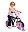 Детский беговел +шлем Injusa Jumper 502 розовый, фото 2