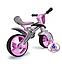 Детский беговел +шлем Injusa Jumper 502 розовый, фото 5
