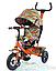 Детский трехколесный велосипед TILLY Trike T-351-2 Air лепестки ивы гол, кр,ор, желт, фото 2