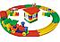 Детский конструктор железная дорога, Термінал - 2 ТехноК 1240, фото 3