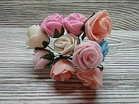 Набор цветочков искусственных декоративных №1