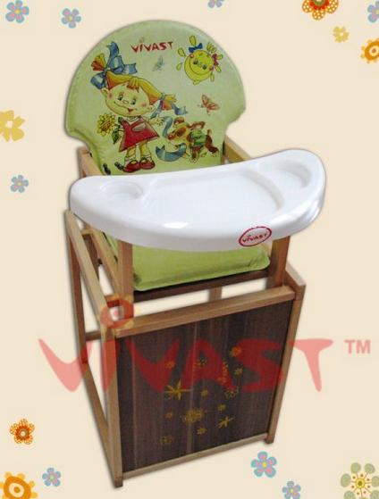 Детский стульчик для кормления трансформер №100 Vivast