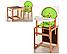 Детский стульчик для кормления трансформер №100 Vivast, фото 2
