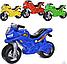 Детский двухколесный мотоцикл, толокар, беговел 501 Орион, 4 цвета, фото 2