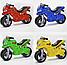 Детский двухколесный мотоцикл, толокар, беговел 501 Орион, 4 цвета, фото 3