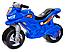 Детский двухколесный мотоцикл, толокар, беговел 501 Орион, 4 цвета, фото 5