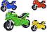 Детский двухколесный мотоцикл, толокар, беговел 501 Орион, 4 цвета, фото 7