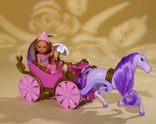 Кукла Evi  в карете с лошадкой Simba 5735754