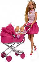 Кукла Steffi  с Коляской Simba 5738060
