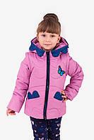 """Демисезонная  куртка-жилетка  для девочки """"Мона"""", весенняя куртка для девочки, ВЕСНА 2019"""