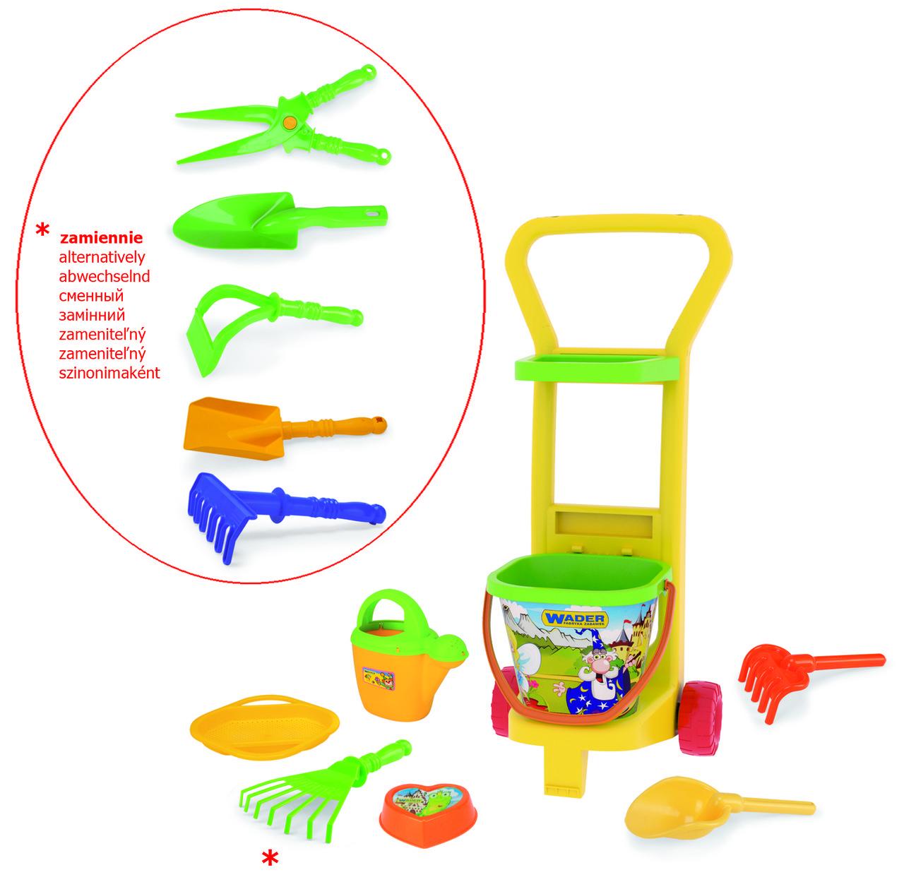 Игровой Набор для песочницы Маленький садовник Wader 10770