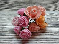 Набор цветочков искусственных декоративных №2