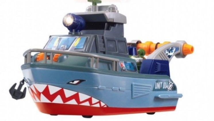Игровой набор Корабль Военный с Batyskafem Dickie 3308365