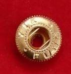 Кнопка нижня частина 1 деталь золото