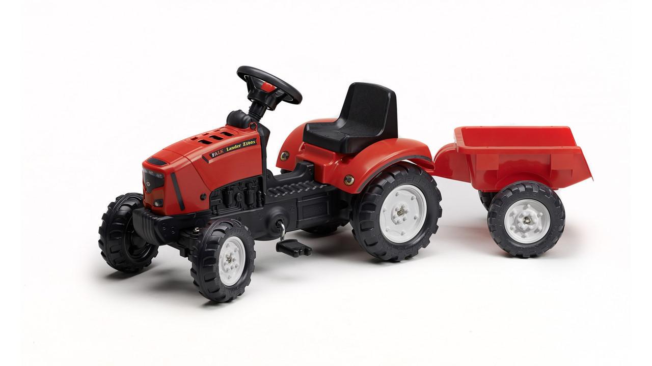 Трактор педальный с Прицепом Lander Falk 2030AC