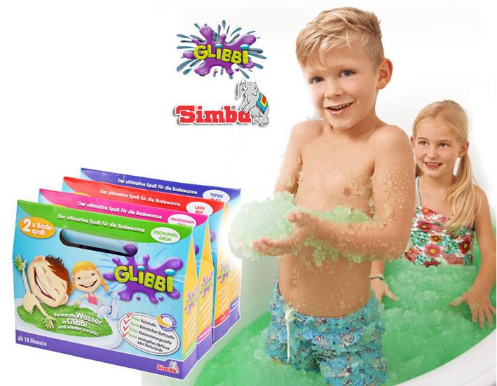 Желе снег для детской ванны Simba 5955362 фиолетовое и другие