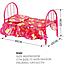 Кроватка игрушечная для кукол железная 9342, фото 3
