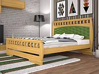 """Двуспальная кровать """"Атлант 11"""" Тис"""