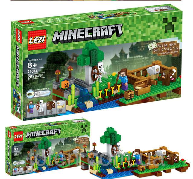 Конструктор Майнкрафт Minecraft 79044, 262 дет.