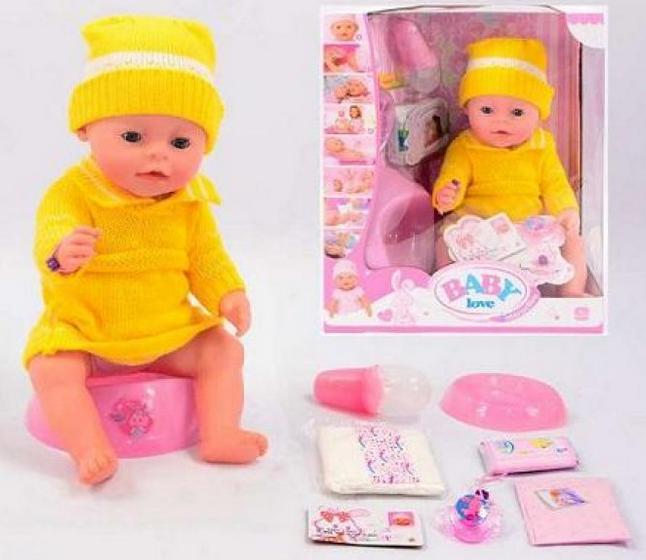 Кукла - пупс Baby Born Love ВL 009 B, 8 функций, в кор-ке