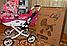 Коляска для кукол ЛиЛу Lily от Adbor Польша от 3 до 7лет, фото 3