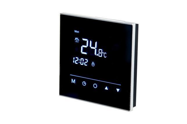Терморегулятор WARM LIFE Black сенсорный, программируемый