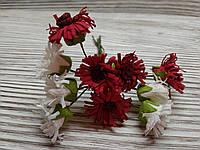 Набор цветочков искусственных декоративных №6