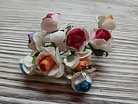 Набор цветочков искусственных декоративных №7