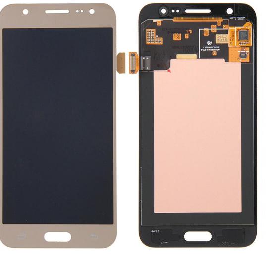 Дисплей (экран) для Samsung J200F/J200G/J200H/J200Y Galaxy J2 с сенсором (тачскрином) золотистый