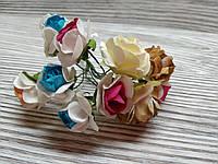 Набор цветочков искусственных декоративных №8